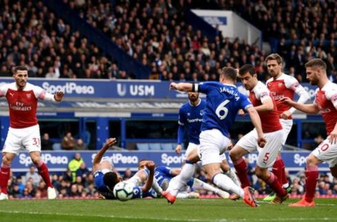 Arsenal continue poor away form at Everton, lose 1-0
