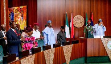 Buhari: Why I didn't sack any minister