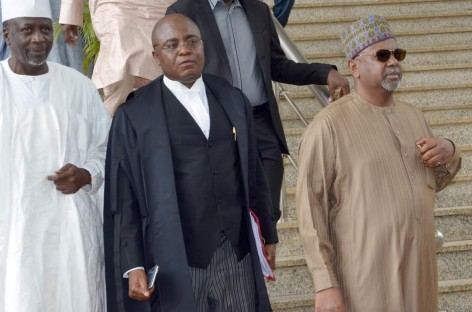 Court adjourns Dasuki's case over lateness