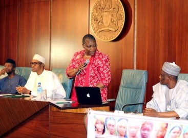 I don't know where your girls are, Buhari tells Chibok parents