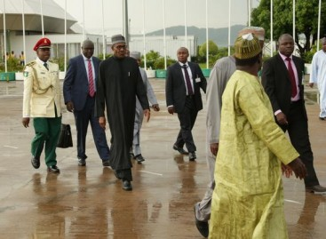 President Buhari Leads Nigeria's Delegation To World Future Energy Summit