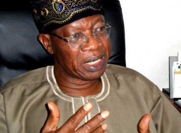 "We'll be out of recession ""in few weeks"" – Lai Mohammed"