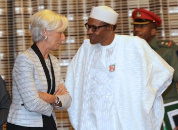 Nigeria will look inwards to overcome economic challenges, Buhari tells IMF