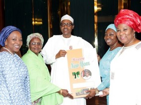 Buhari Receives In Audience Women In Politics Forum