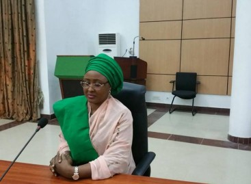 Displaced people in the eyes of Aisha Buhari