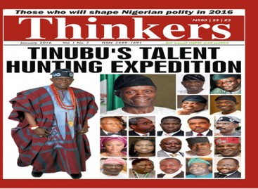 Asiwaju Bola Tinubu, The Iconic Democrat, Is Thinkers Magazine's Man Of The Year 2015