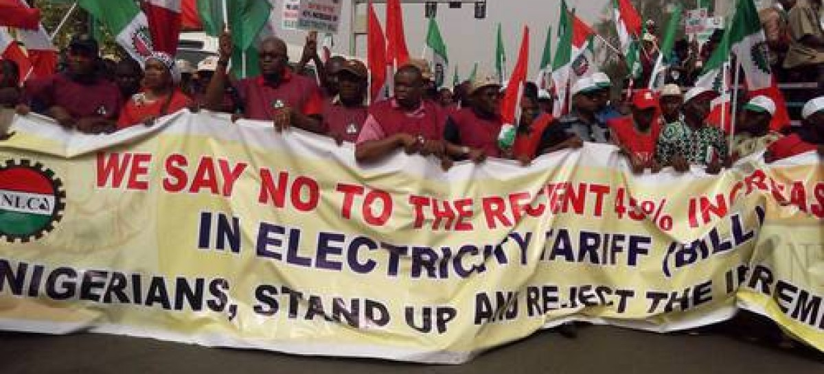 Protesters shut down Abuja over electricity tariffs