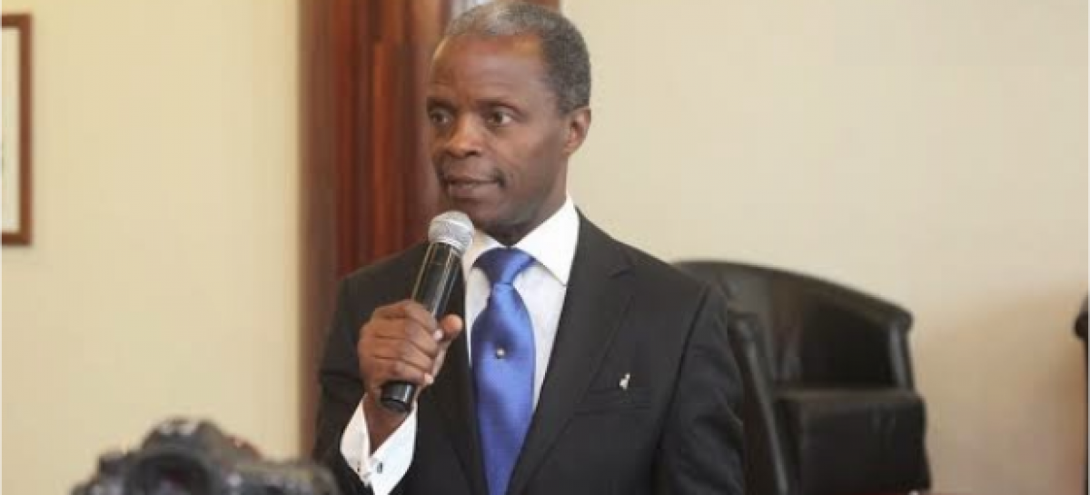 Nigeria does not need oil to survive – Osinbajo