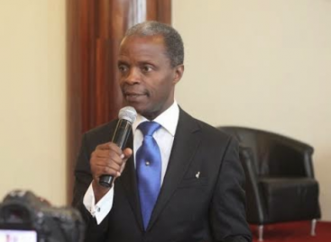"How ""somebody somewhere"" made me VP – Osinbajo"