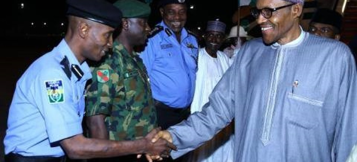 Buhari arrives Abuja, to resume work Thursday