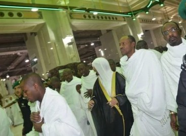 Buhari performs lesser hajj