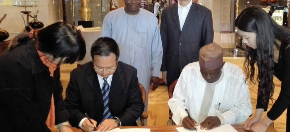 Tambuwal Signs Agric Project Contract in China