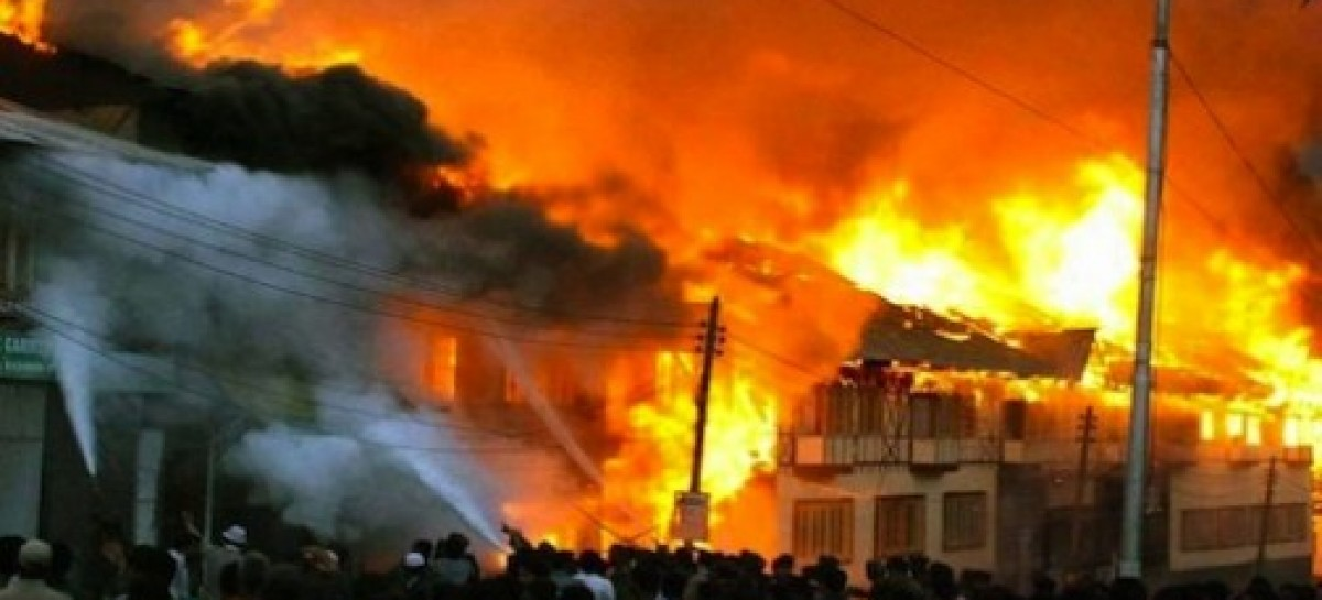 Fire destroys 50 shops in Ladipo market