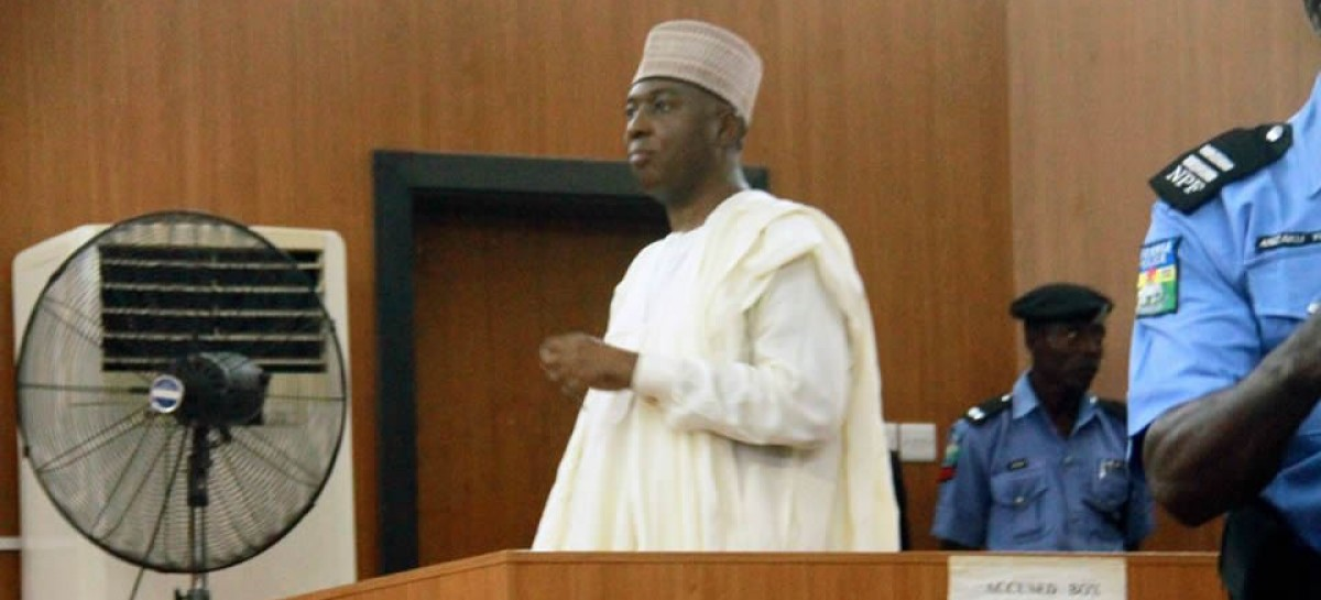 Disqualify yourself, I can't get justice from you, Saraki tells tribunal chairman