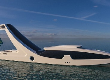 Taking superyachts to new heights! Radical boat concept features an elevated master cabin with a bar and infinity pool 125ft above the water