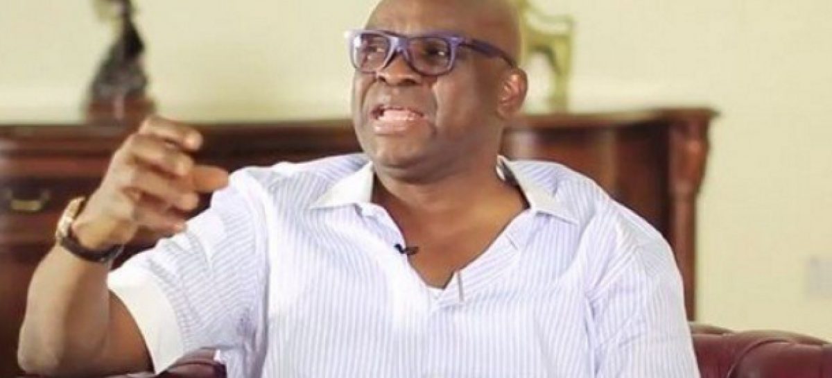 Fayemi plotting with judges to remove me – Fayose