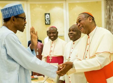 I've Ordered Security Agencies  To Deal Decisively With Rampaging Herdsmen  – Buhari Tells Catholic Bishops