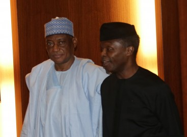 Osinbajo, others pray for Buhari, 3 sick ministers