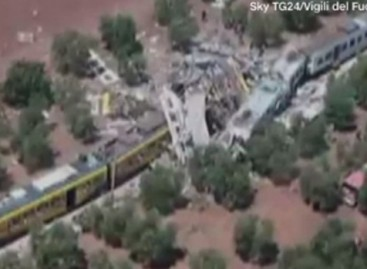 20 killed in Italy train collision