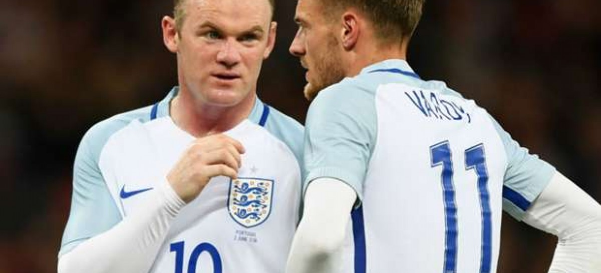Southgate drops Rooney for Slovenia clash