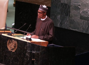 Buhari signs Paris agreement on climate change