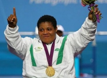 Orji's new record lift  wins 8th gold medal for    Nigeria