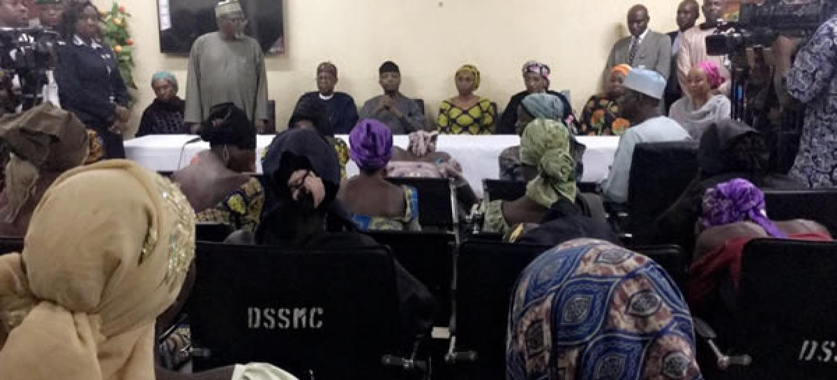 Presidency releases names of freed Chibok girls
