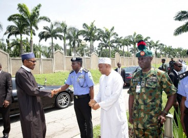 Securing Nigerians, our top priority – Buhari