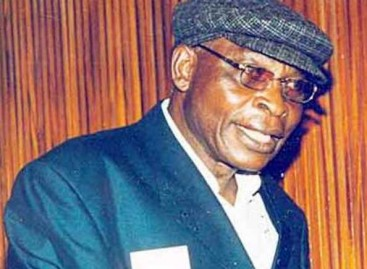 Buhari felicitates with veteran journalist, Ben Lawrence, at 80