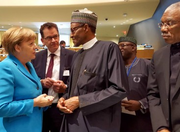 Buhari congratulates Merkel over election victory