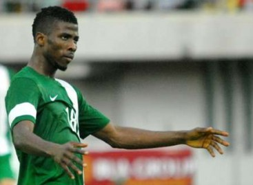 Nigeria wins WCQ game against Zambia