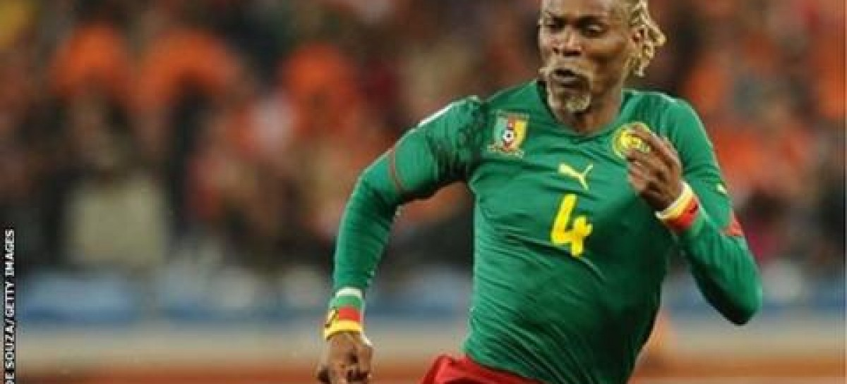 Cameroon legend Rigobert Song in hospital after 'cerebral attack'