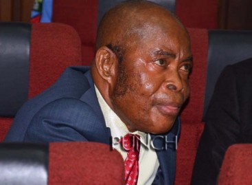 BREAKING: Justice Ngwuta arraigned for money laundering