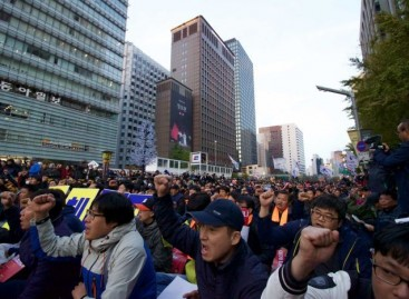 South Korean protesters intensify call for President's resignation