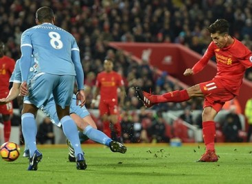 Liverpool Sink Stoke City To Go Second