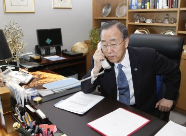 We cant reach Yahaya Jammeh on phone, Ban Ki-moon laments