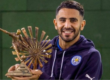 Riyad Mahrez wins BBC African Footballer of the Year 2016 award