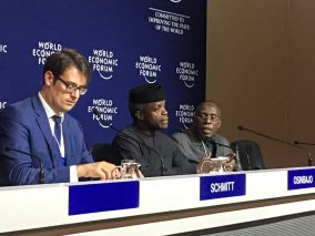 VP Osinbajo at the World Economic Forum 2017, Davos, Switzerland