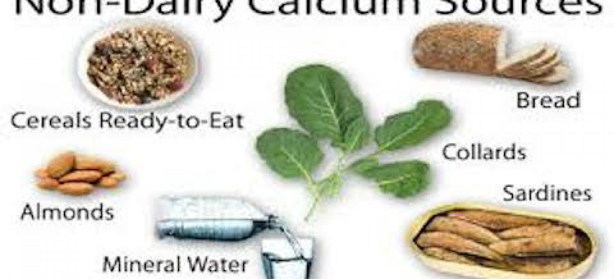 Importance of calcium and how to get enough without dairy