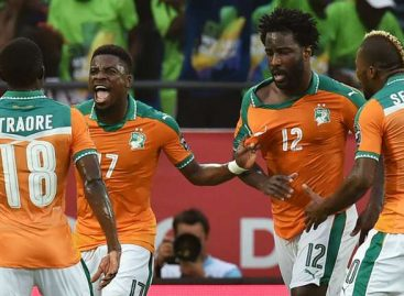 AFCON 2017 results for Friday