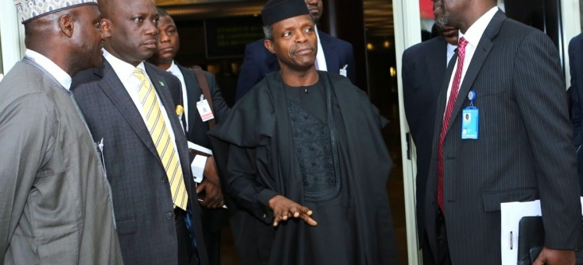 Osinbajo to speak at anti-corruption summit in Paris