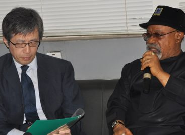 Persuade your companies to return, Nigerian govt urges Japan envoy