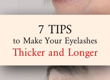 Tips to make your eyelashes thicker and longer