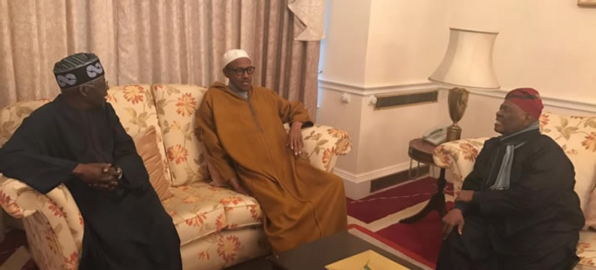 On Buhari's extended stay in London?