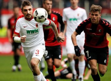 German Bundesliga results for Saturday
