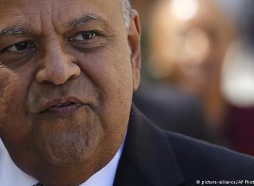 South African finance minister sacked