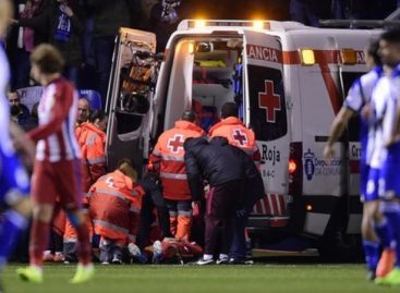 Torres suffers massive head injury against Deportivo