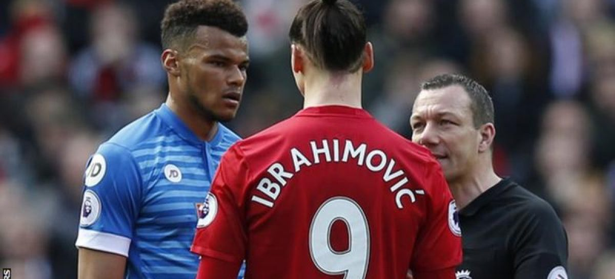 Zlatan Ibrahimovic & Tyrone Mings charged with violent conduct by FA