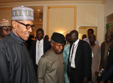 BREAKING: Osinbajo still in charge – Buhari