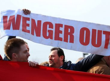 78 percent of Arsenal fans want Wenger out